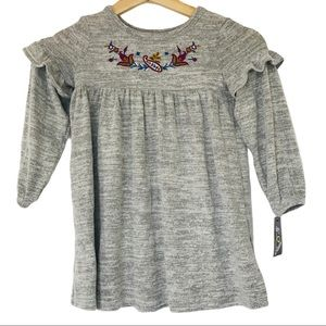 Art Class toddler embroidered long sleeve top